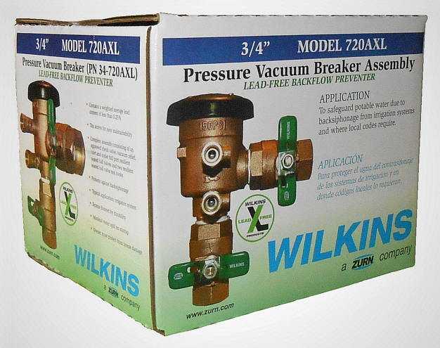 wilkins 720a pressure vacuum breaker manual